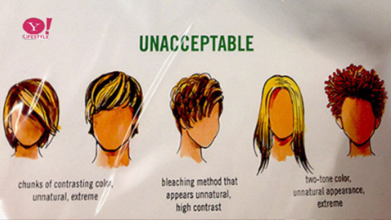 edge mobile hair reports on Abercrombie and Fitches news rules for staff hairstyles