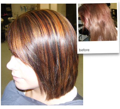 a major colour self-done correction