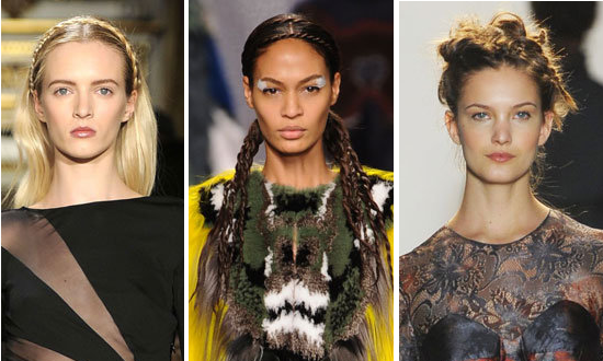 Give yourself a great new look with plaits - the hot new hairstyling trend for Spring / Summer 2013!